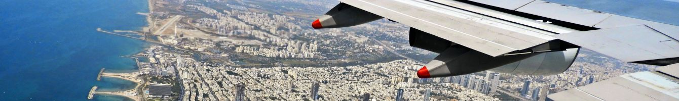 Approaching Tel Aviv.