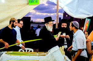 Negotiating for the Lulav at the Bnei-Brak Market