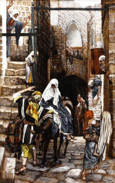 8_Saint Joseph Seeks a Lodging in Bethlehem