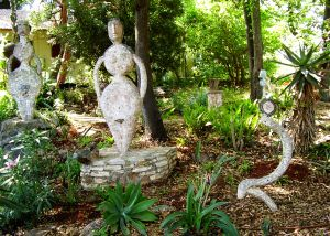 Adam and Eve and the Snake in Kibutz Eilon, Israel
