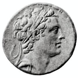Antiochus IV Epiphanes coin