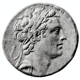 Antiochus IV Epiphanes coin