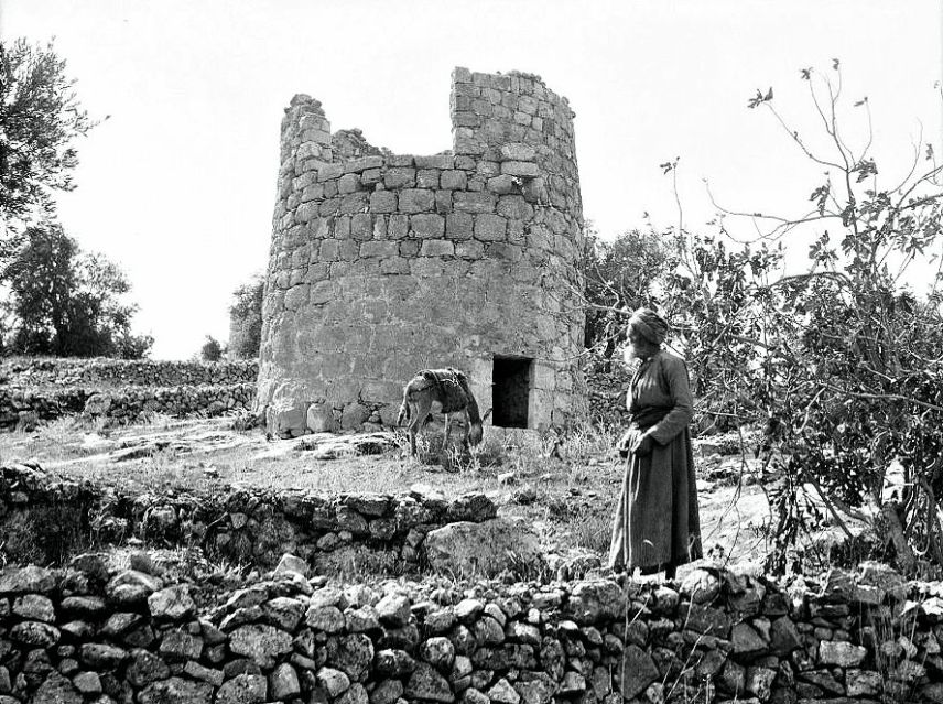 Watchtower, Shepherd's Fields, Bethlehem (circa. 1934)