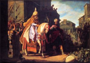 Haman Exalts Mordechai