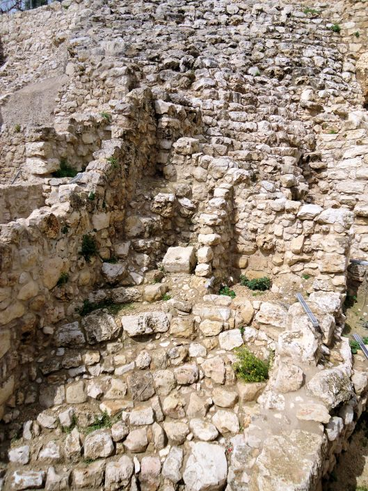 The Millo, City of David, Jerusalem, Israel