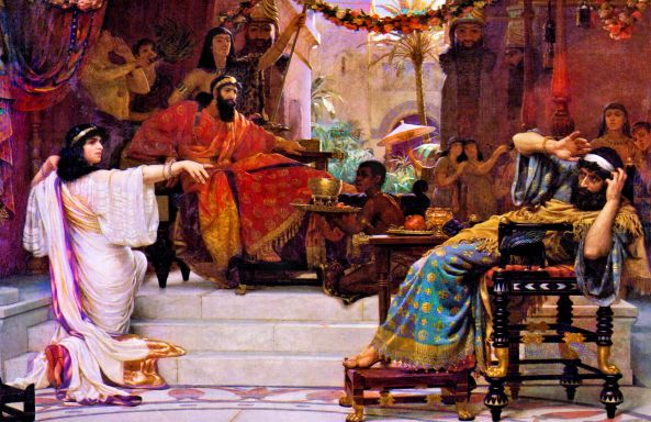 Esther Denouncing Haman_Ernest Normand