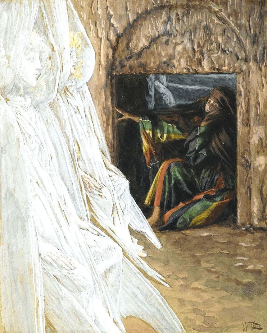 2_Mary Magdalene Questions the Angels in the Tomb