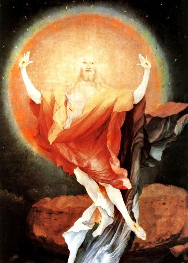 3_Matthias Grünewald_The Resurrection_detail