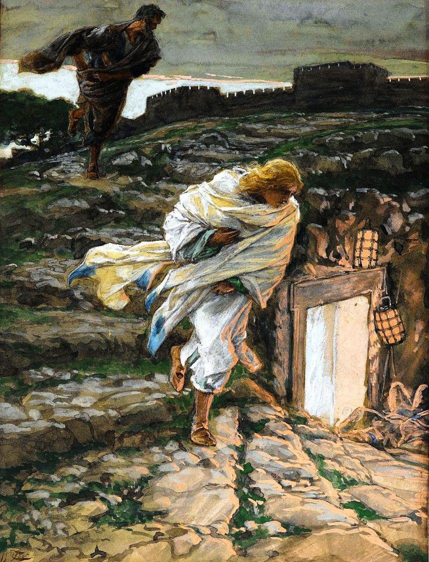 3_Saint Peter and Saint John Run to the Sepulchre
