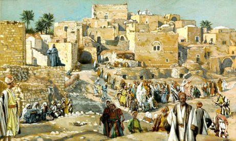 Il allait par les villages en route pour Jérusalem (He Went Through the Villages on the Way to Jerusalem)