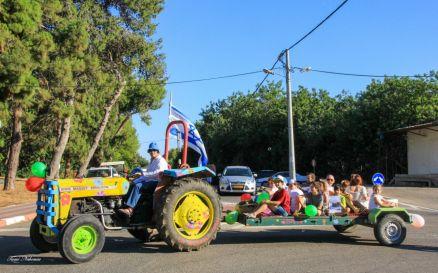 11_Shavuot holiday parade, Moshave Betzet, Israel