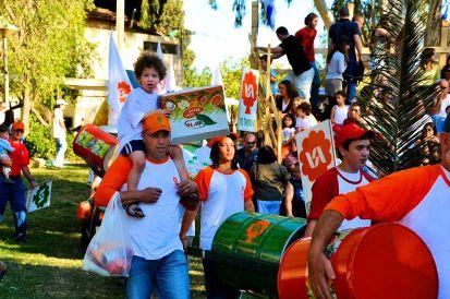 12_Shavuot Parade at Kibbutz Gan-Shuel
