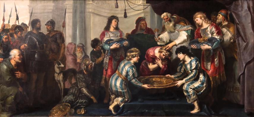 Zadok Anoints Solomon_By Cornelis de Vos