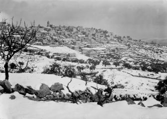 Bethlehem and surroundings in snow (1921)_Matson Collection