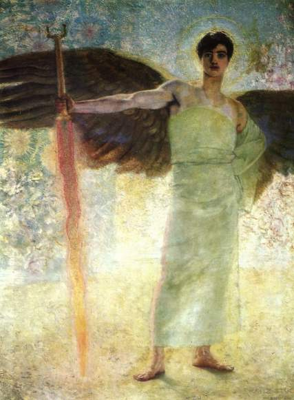 3_Guardian of Paradise_Franz von Stuck