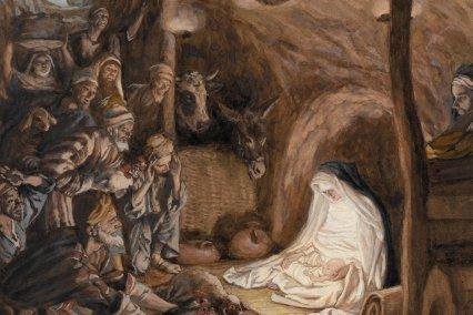 Detail: L'adoration des bergers_Tissot