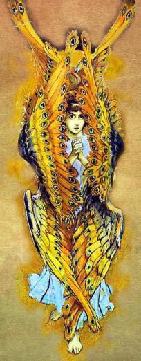 Seraph. By Viktor Mikhailovich Vasnetsov. Digital composition, MKM Portfolios