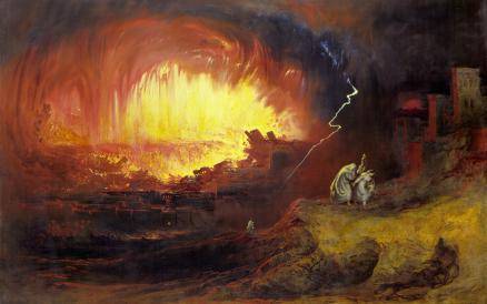 4_Sodom and Gomorrah_John Martin
