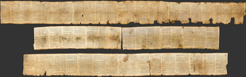 The Great Isaiah Scroll, the best preserved of the biblical scrolls found at Qumran.