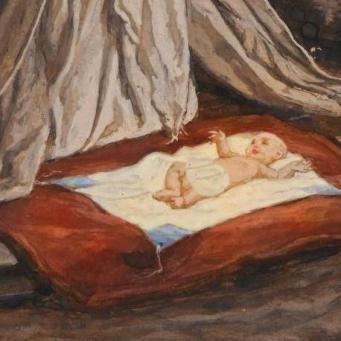 La Nativité de Notre Seigneur Jésus Christ_Tissot_tTsq